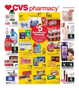 CVS Weekly Ad April 4/22/2018 - 4/28/2018