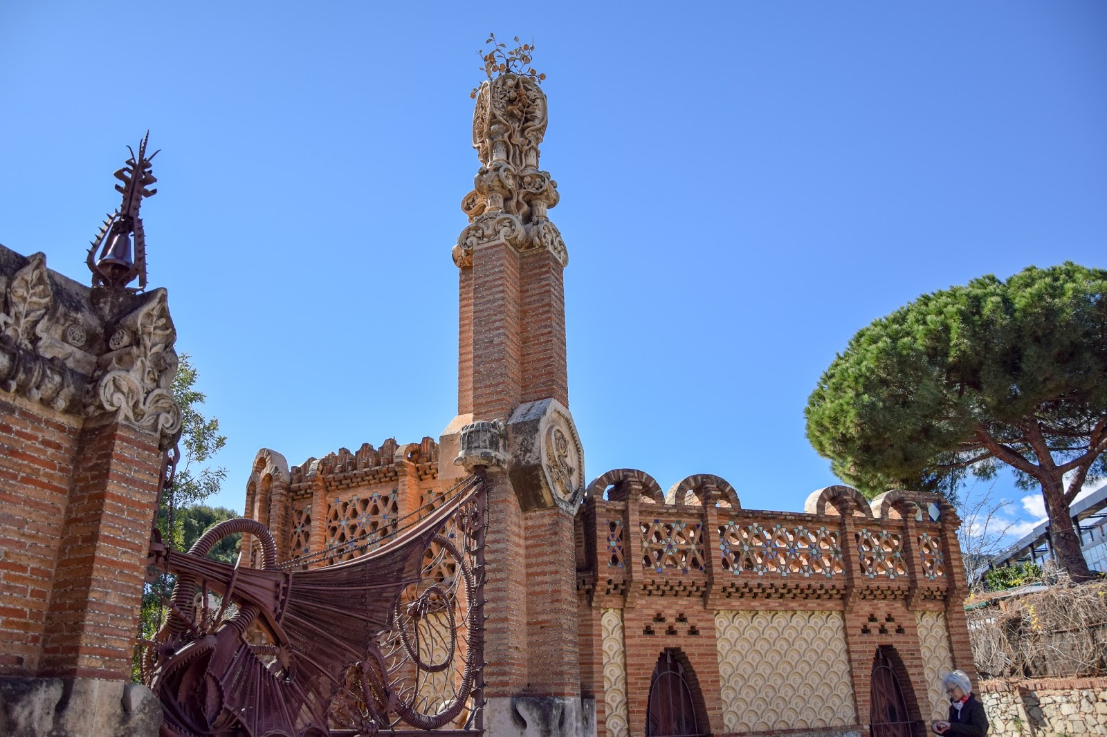 Gaudi Pawilony Guell