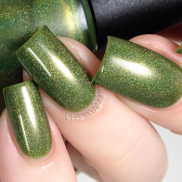 Daily Hues Nail Lacquer-Olive