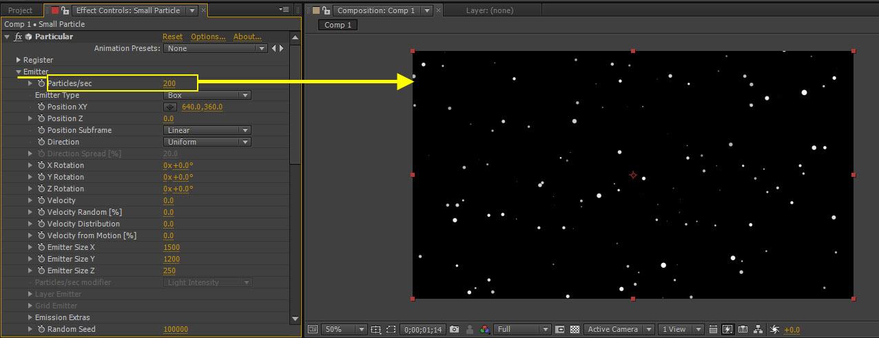 Particle Dot 10