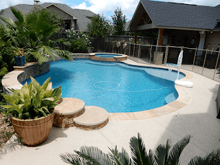 Custom Free Form Inground Pools 8