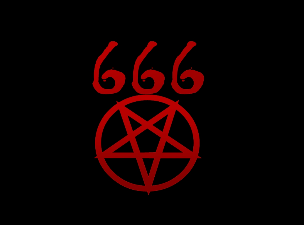 666 pentagram wallpaper