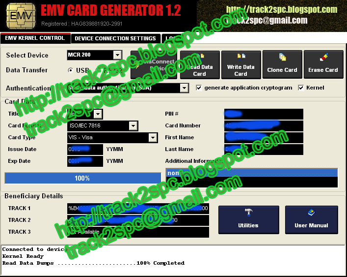 Track 2 Generator Specialist - CC Dumps - CC Fullz - EMV