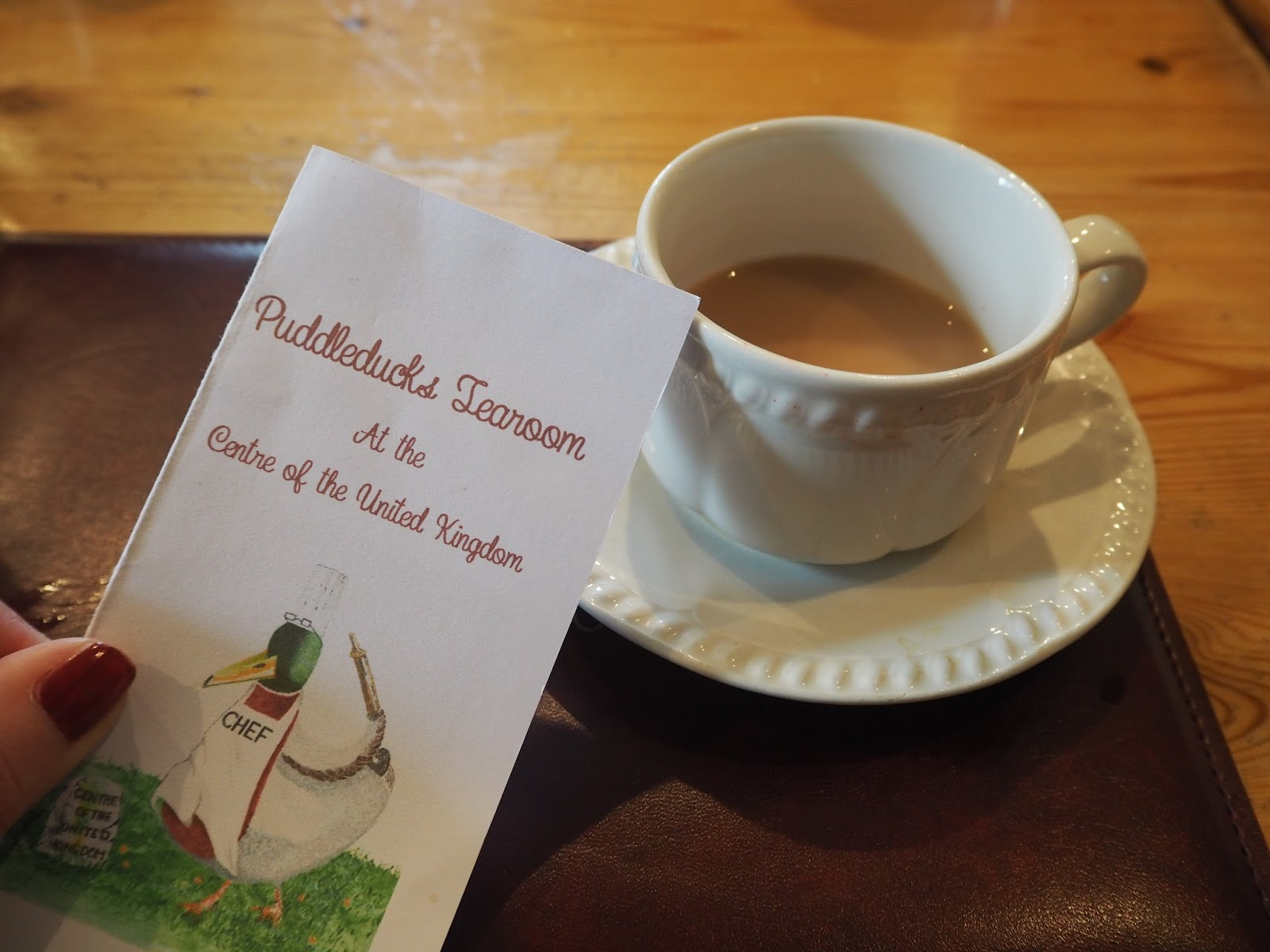 Puddleducks tearoom, dunsop Bridge