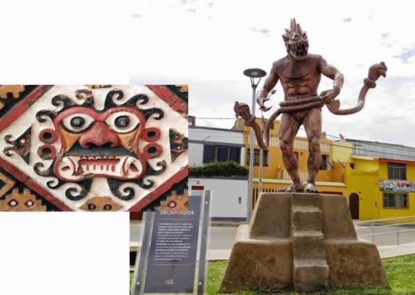 Demonio Decapitador, el principal dios de los Moche, Ai-apaec