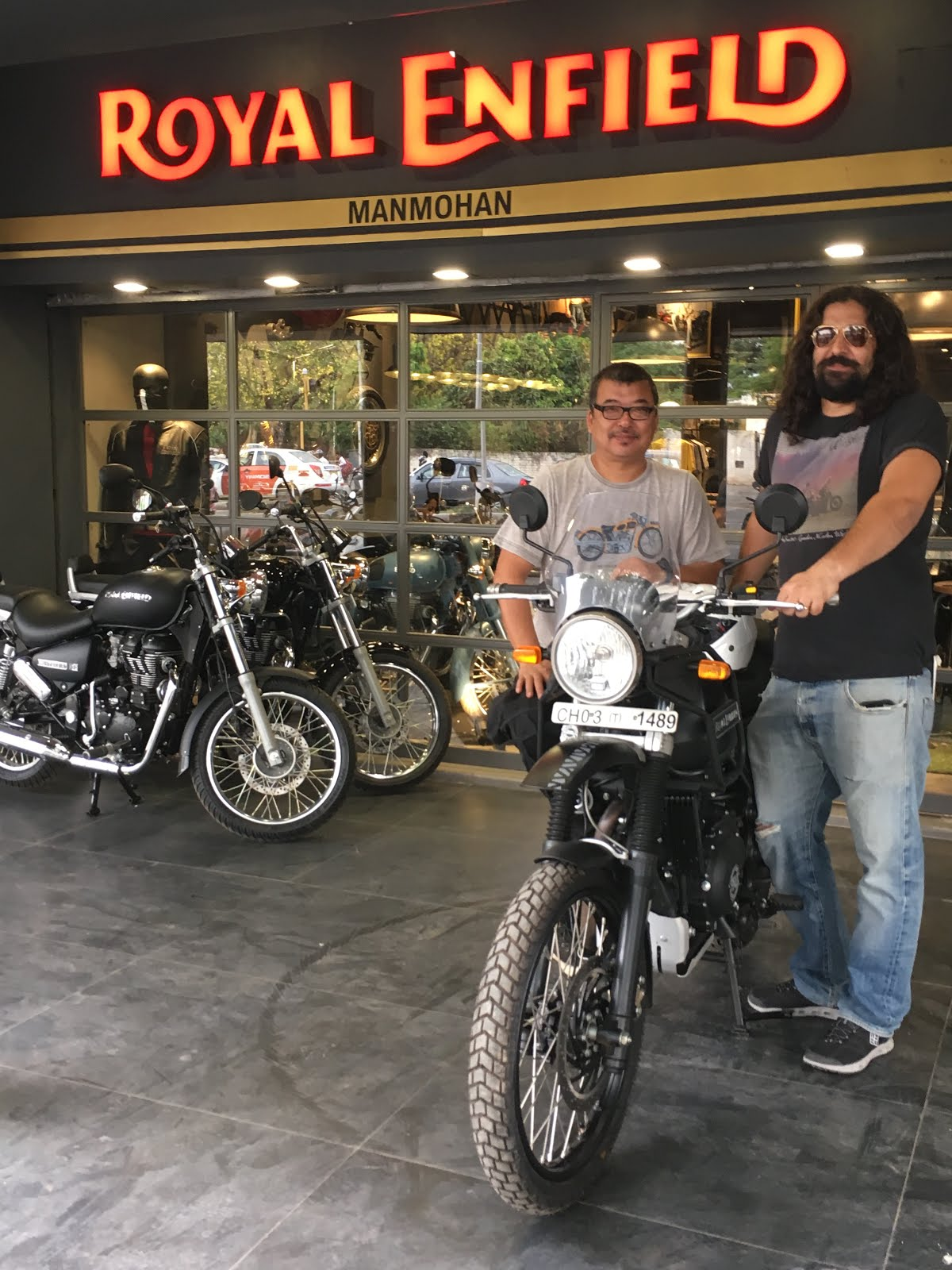 A Time To Ride: First Himalayan in Chandigarh!