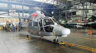 Helikopter AKS AS565 MBe Panther