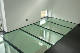 A Tempered Glass Floor