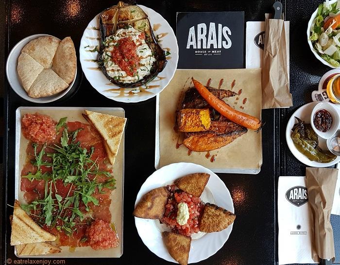 עראיס – מסעדת בשרים משובחת בשרונה