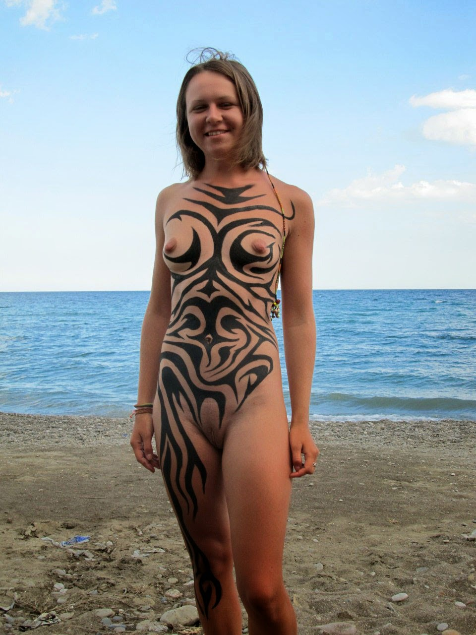 nude ukraine beach