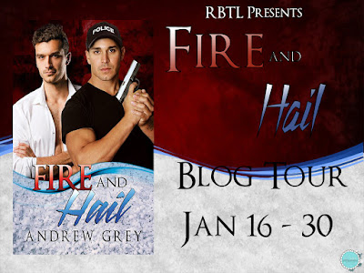 Blog Tour: Factoid, Excerpt & Giveaway Andrew Grey - Fire and Hail