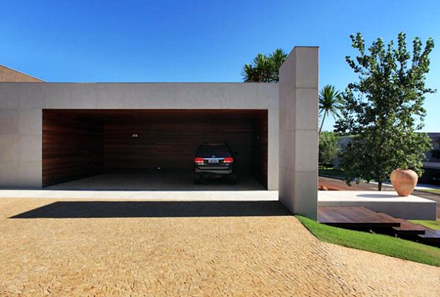 Desain Garasi Rumah Minimalis Modern Kontemporer