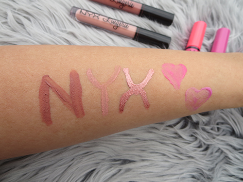 NYX Lip Gloss Lipstick #Review #NationalLipstickDay