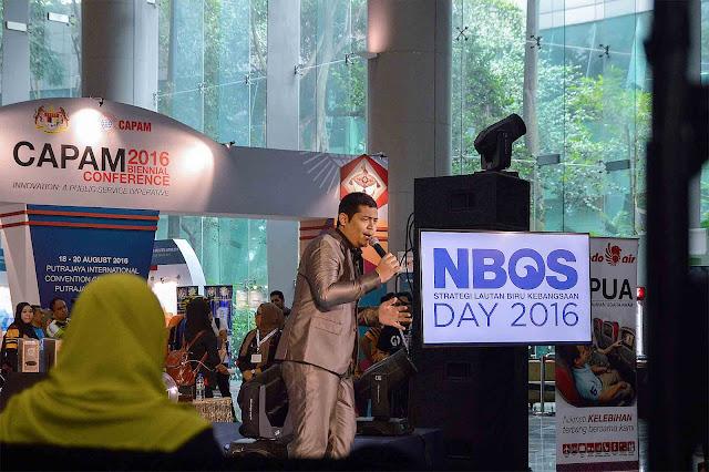 Ippo Hafiz Membuat Persembahan Di NBOS 2016