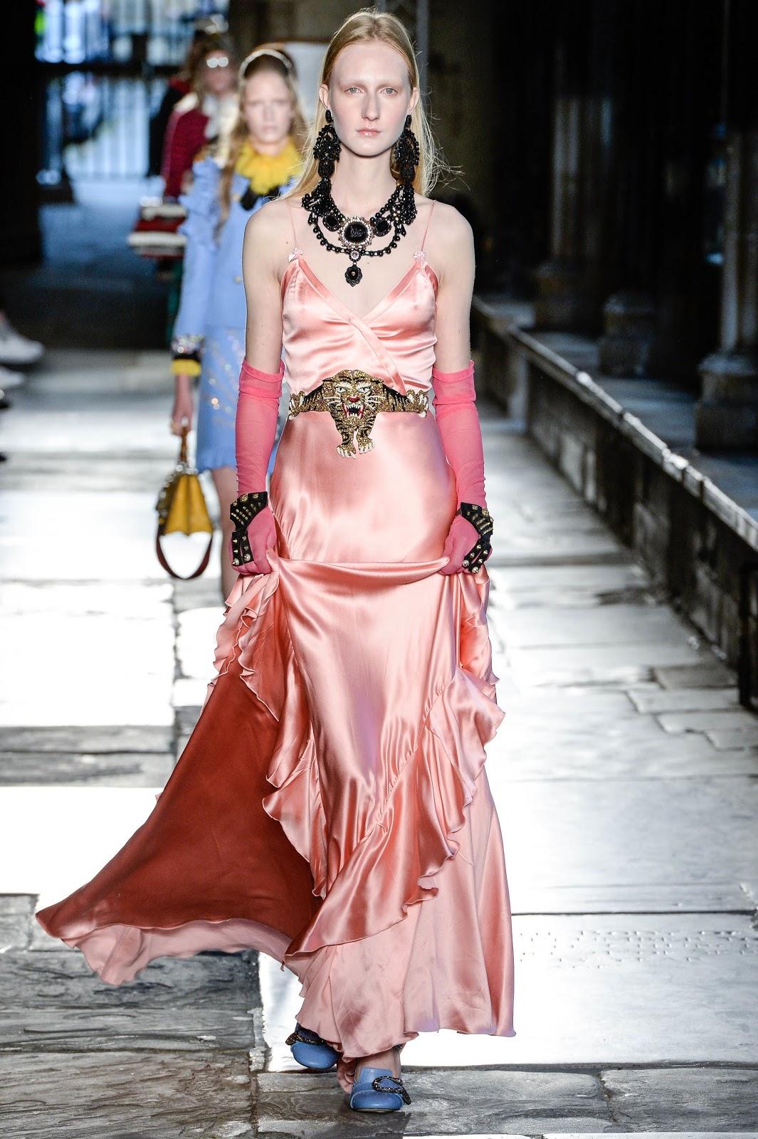 Fashion Runway Gucci Resort 2017 Westminster Abbey