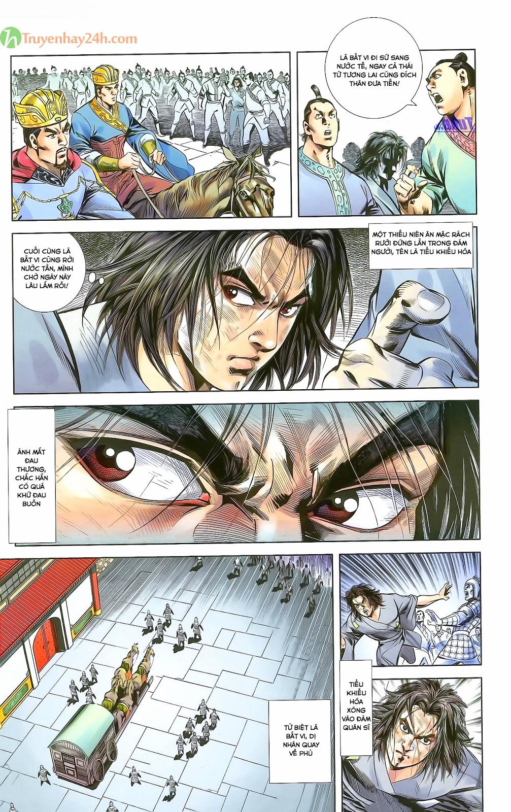 Tần Vương Doanh Chính chapter 28 trang 28