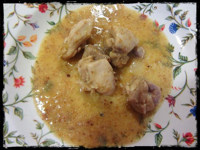 Pollo en salsa de cebolla (Thermomix)