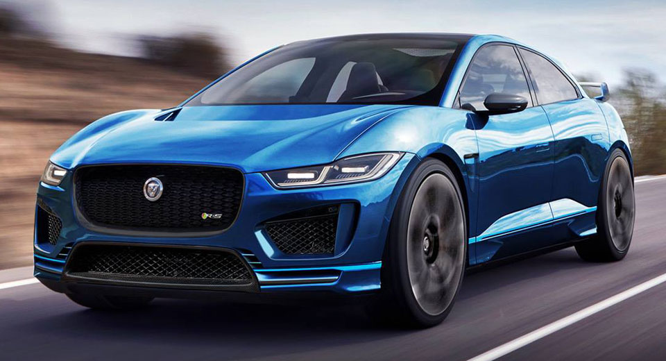 Jaguar I-Pace R-S Would Give Tesla Something To Worry About