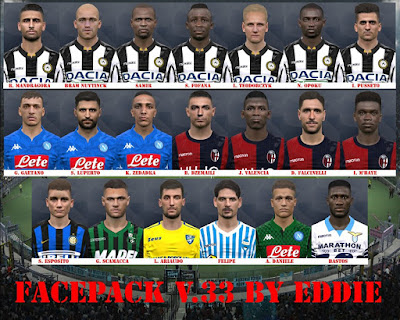 PES 2017 Facepack vol 33 by Eddie Facemaker