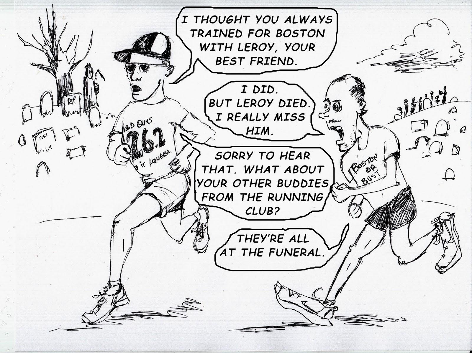 The Old Man and the Boston Marathon: ARE MARATHONERS