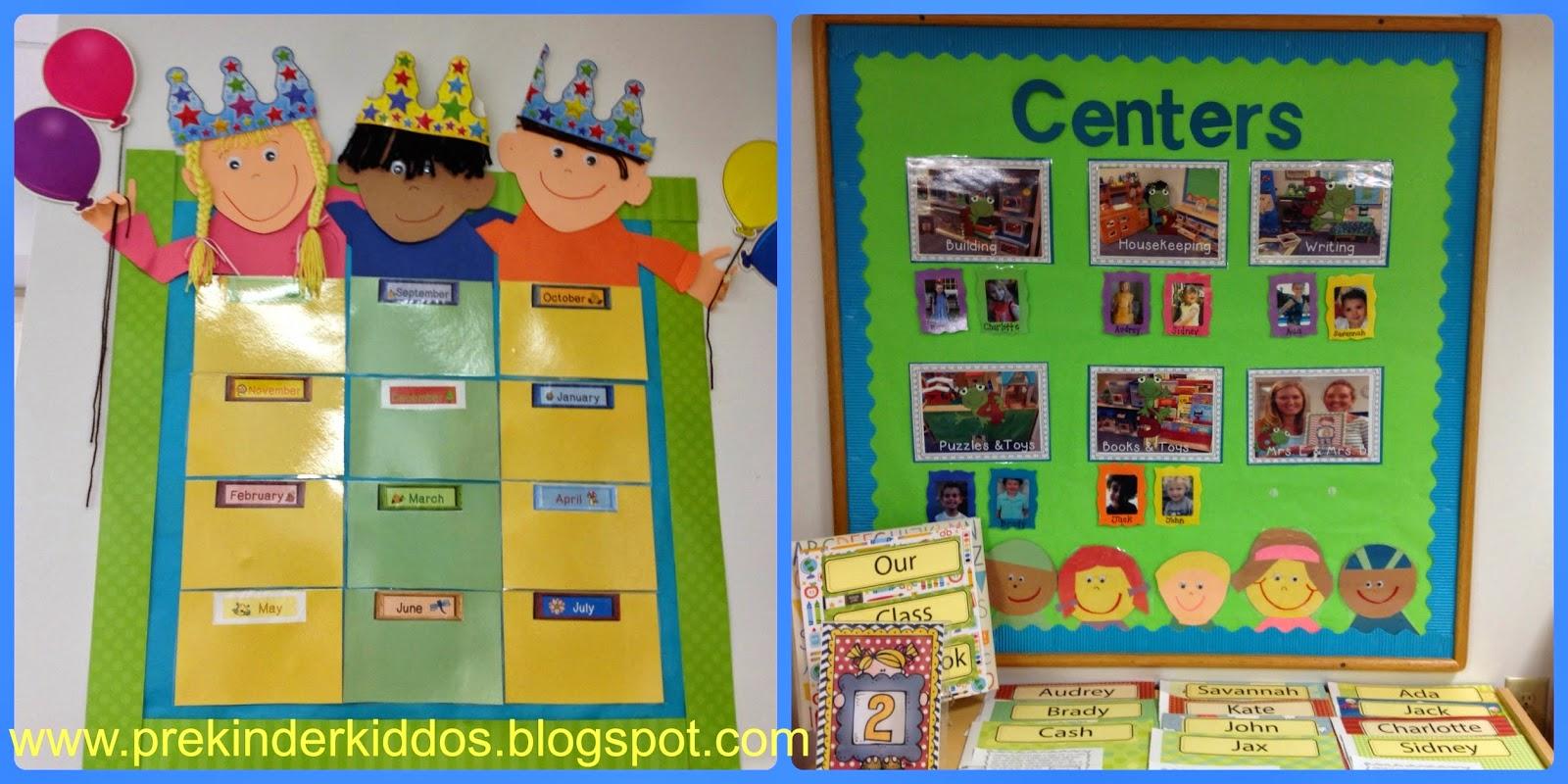 Birthday Chart Ideas For Kindergarten