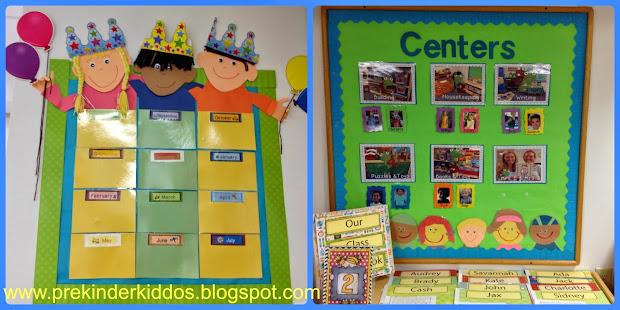 Display For Classroom Birthday Chart