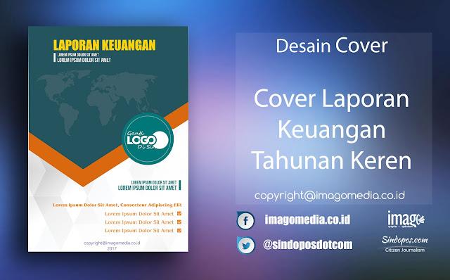 Download Template Desain Cover Laporan Keuangan Tahunan Keren