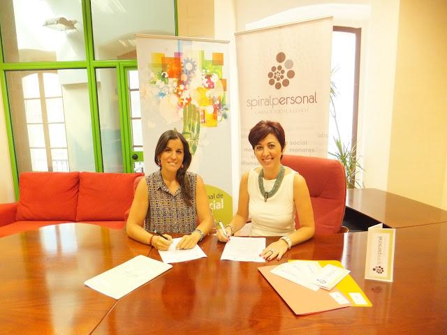 Convenio de Colaboración entre el Colegio Profesional de Trabajo Social de Cádiz y Spiral Personal.Gabinete Social & Coach