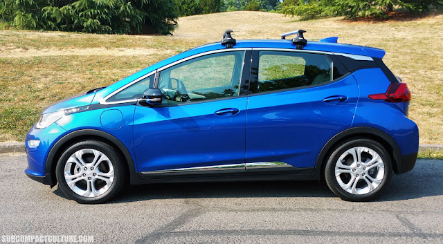 2017 Chevrolet Bolt LT, side - Subcompact Culture
