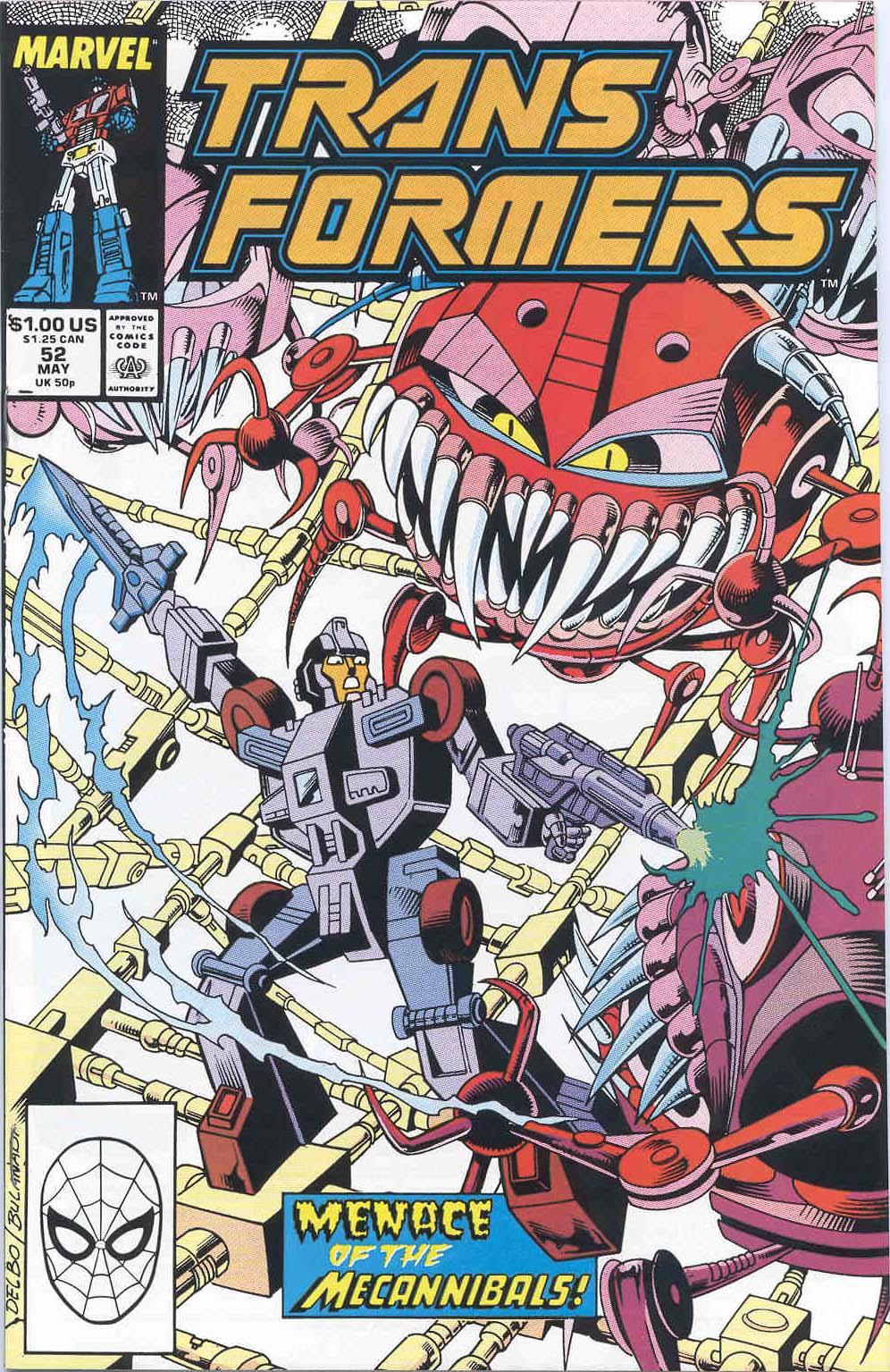 The Transformers (1984) 52 Page 1