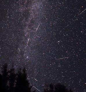 Perseidák meteorraj augusztusban