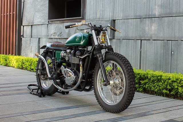 Triumph Bonneville By Persist Motorcycles Hell Kustom