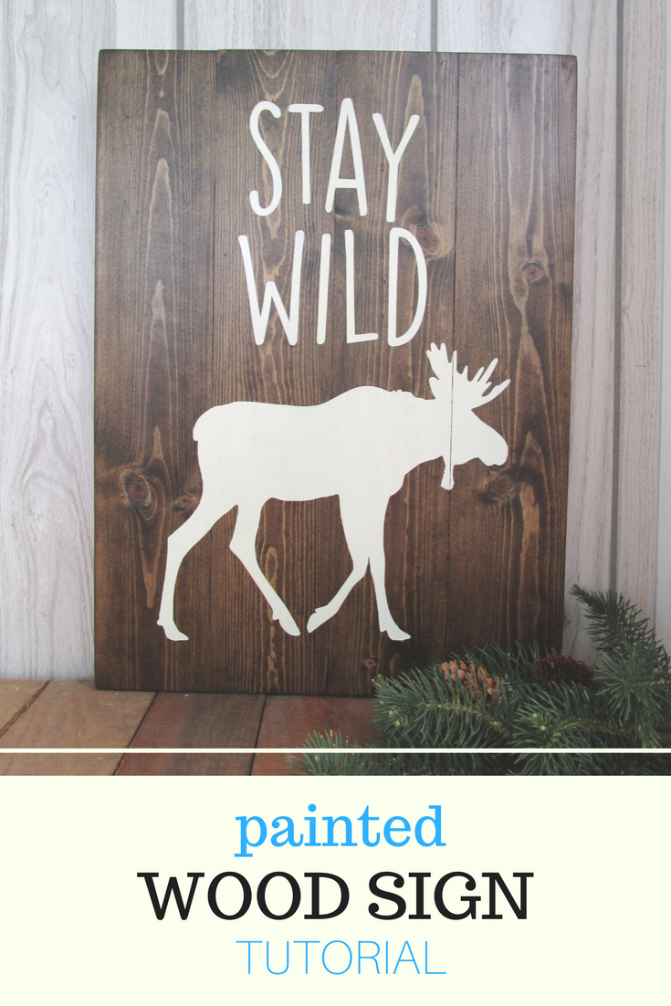 fancy diy wooden signs tutorial