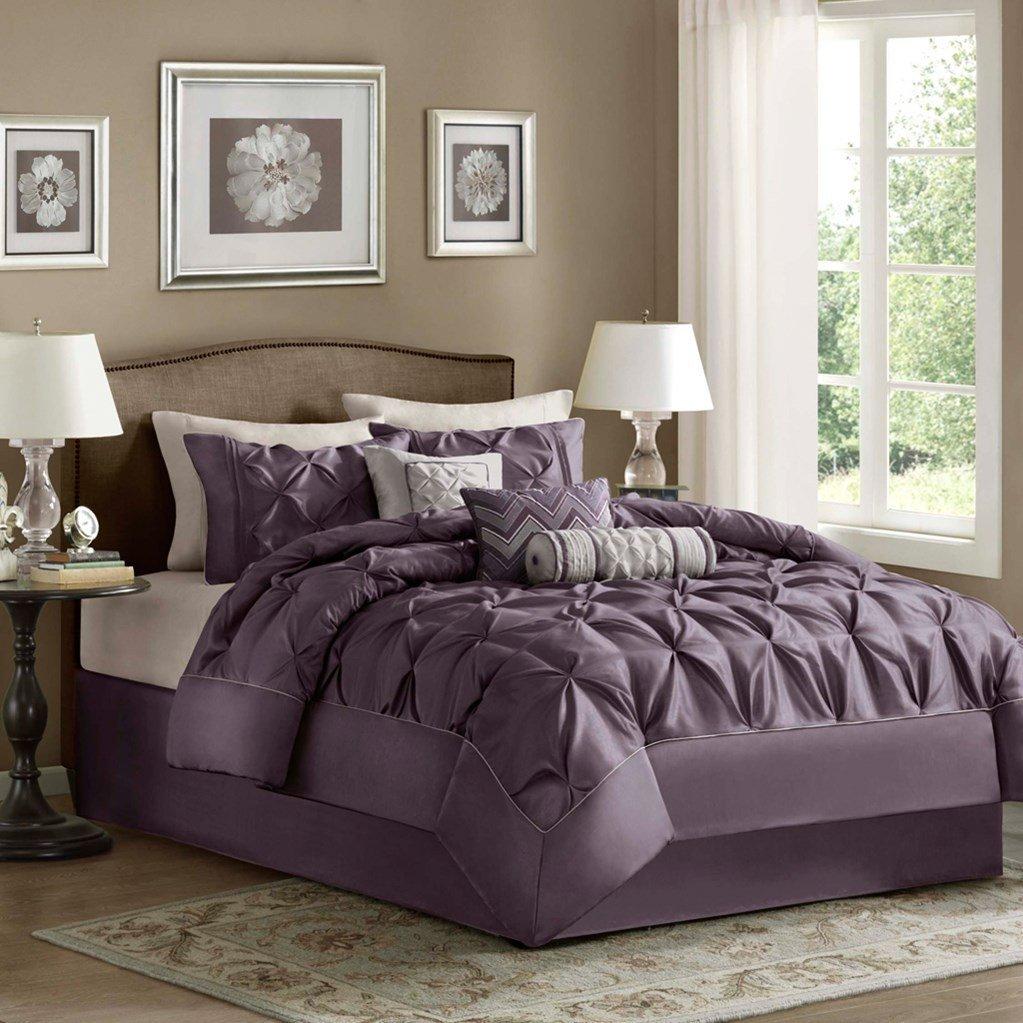 Deep Dark Purple Comforters Amp Bedding Sets