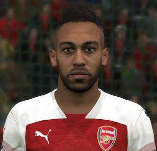 PES 2017 Faces Pierre-Emerick Aubameyang by Ben Hossam FaceMaker