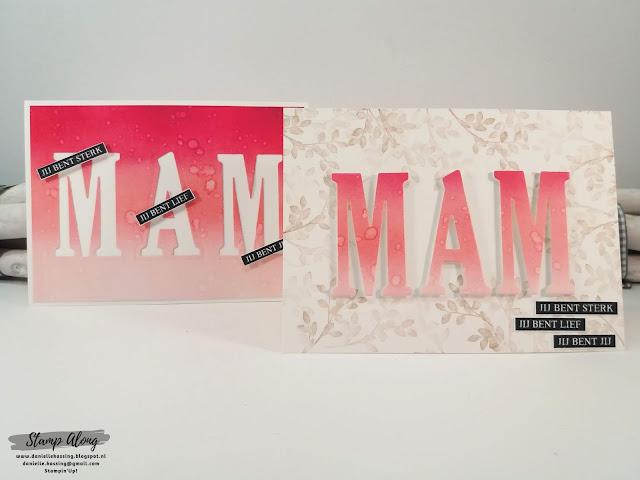 Stampin'Up! Large Letters Framelits Dies