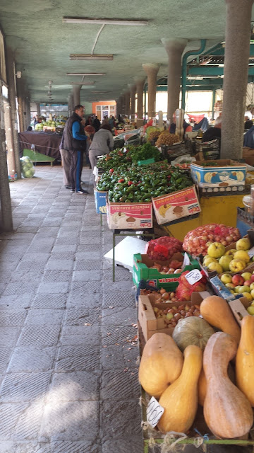 Season, Peppers, Yambol, Market Stalls,