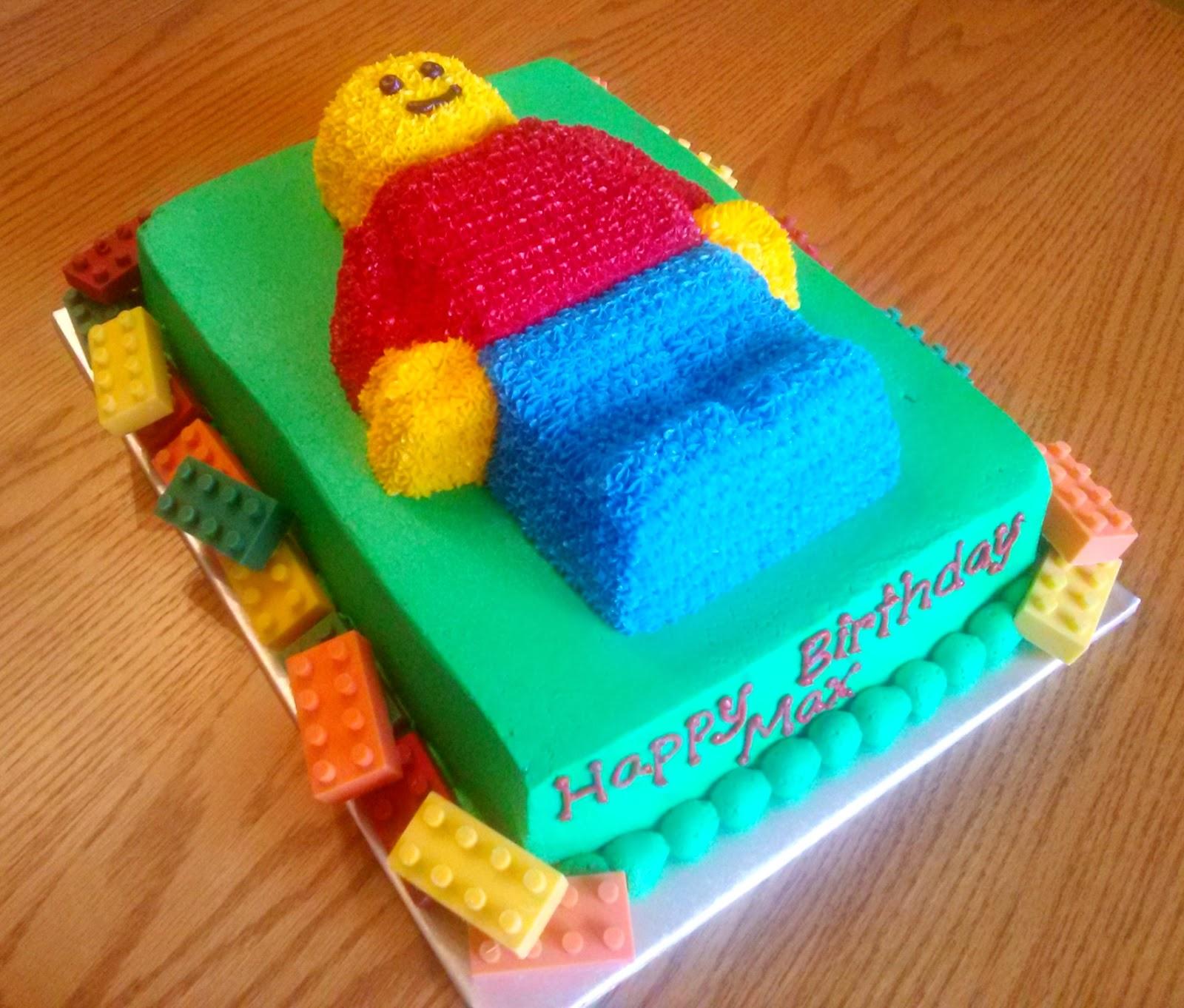 Lego Minifigure Birthday Cake Mold