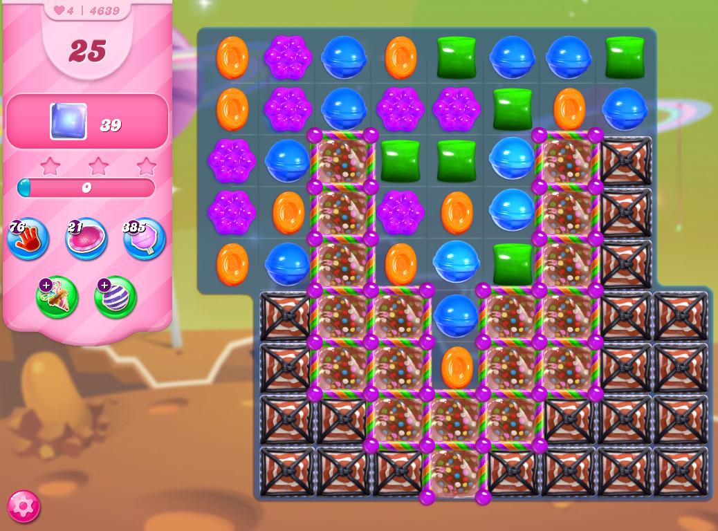 Candy Crush Saga level 4639