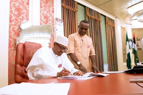 Buhari Signs Act on Endangered Species