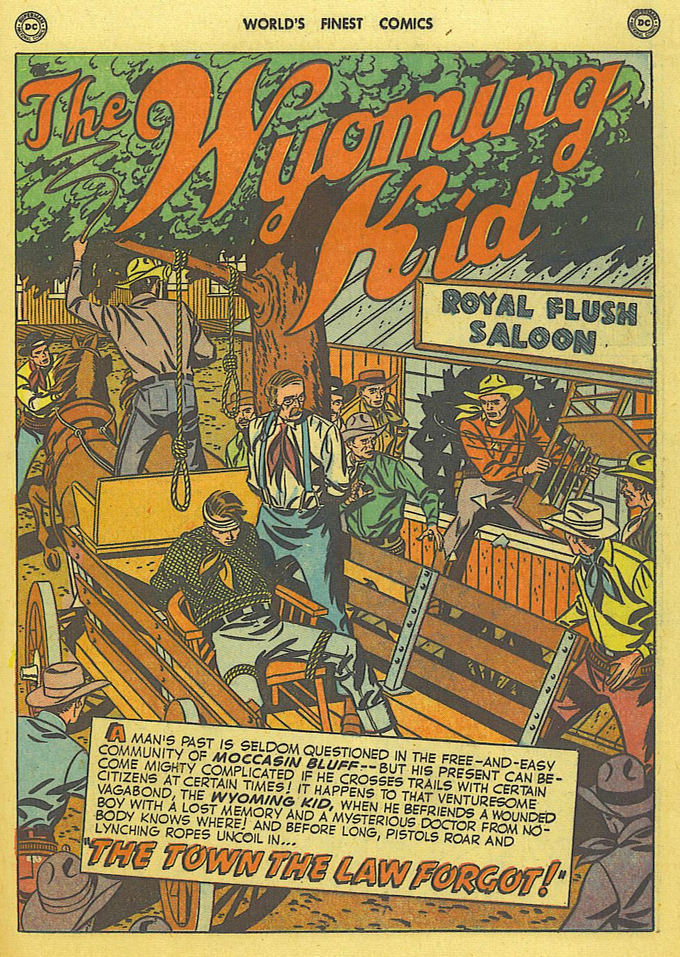 Read online World's Finest Comics comic -  Issue #49 - 40