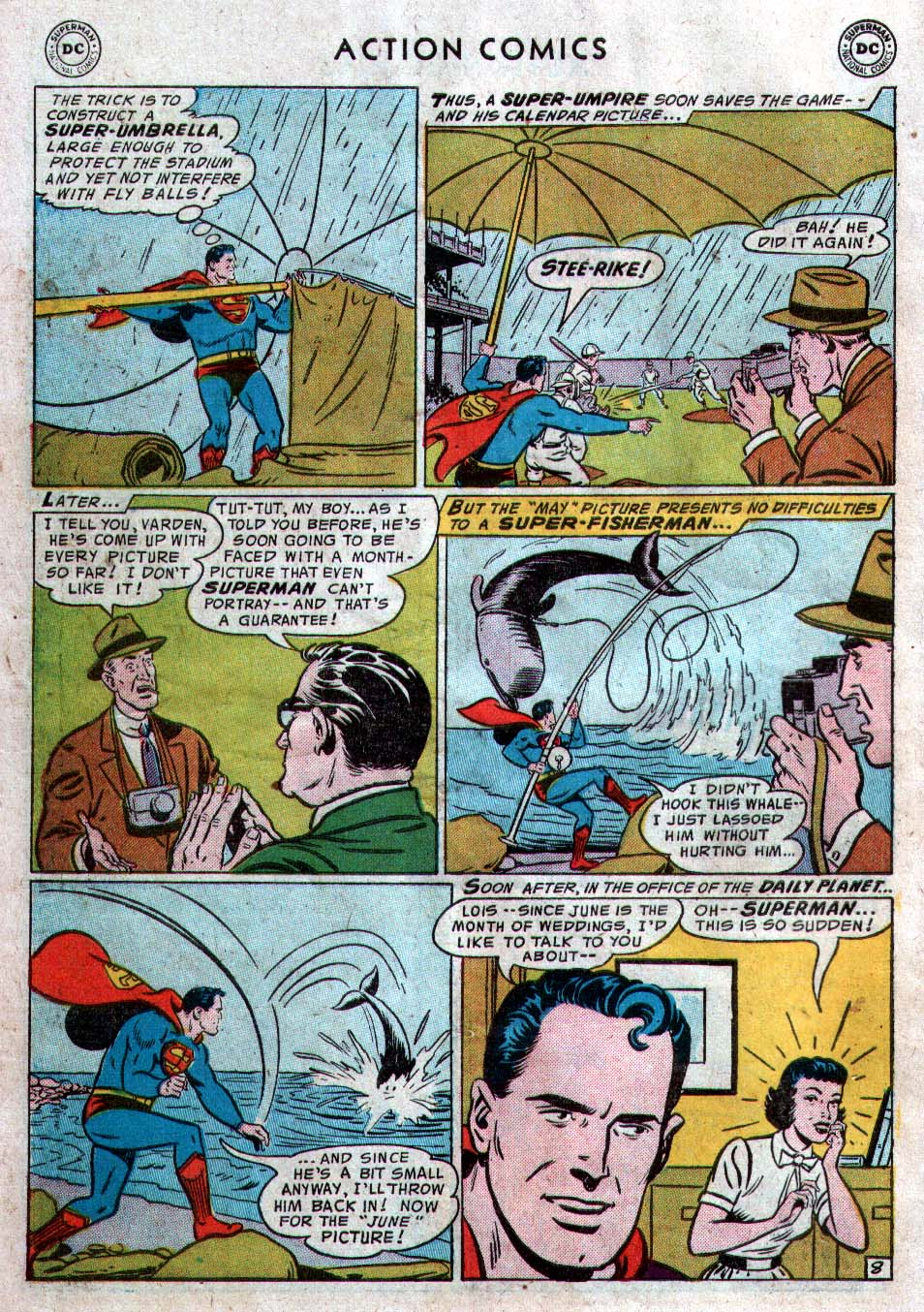 Read online Action Comics (1938) comic -  Issue #212 - 10