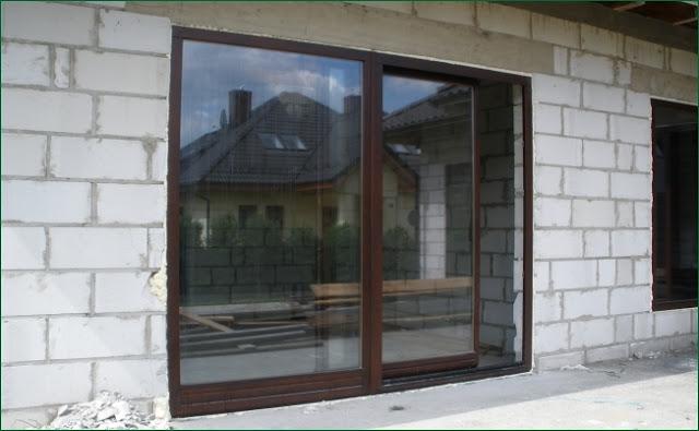 Drzwi tarasowe uchylno-przesuwne / PSK /, drzwi tarasowe przesuwne,