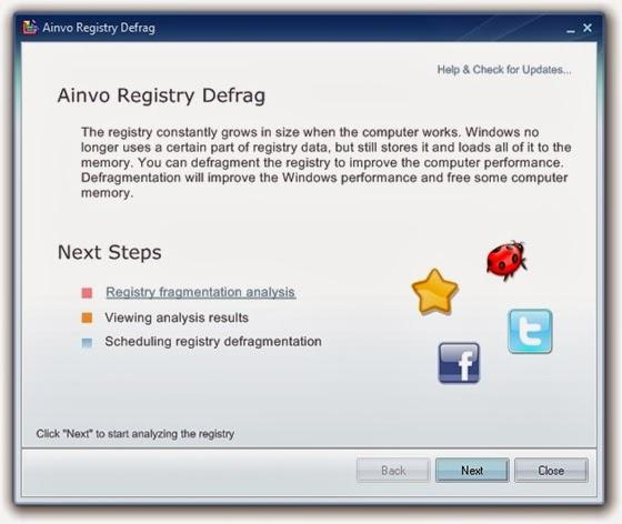 Ainvo Registry Defrag - 560x472