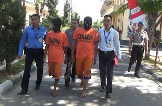 Mbegal Di Sekitar Pasar Sayur,Dua Warga Parang Berhasil Di Ringkus Polisi