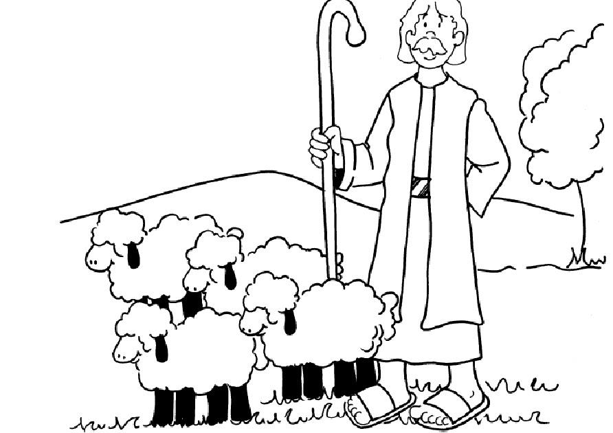 Molde Pastor E Ovelha