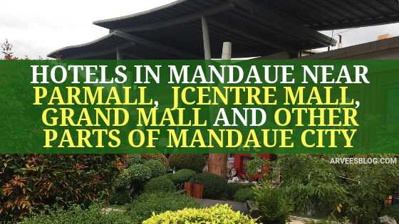 Hotels in Mandaue Cebu Near Pakmall, J Centre Mall and Other Parts of Mandaue City