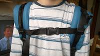 buzzidil versatile bretelles ceinture poitrine sangle portage préformé