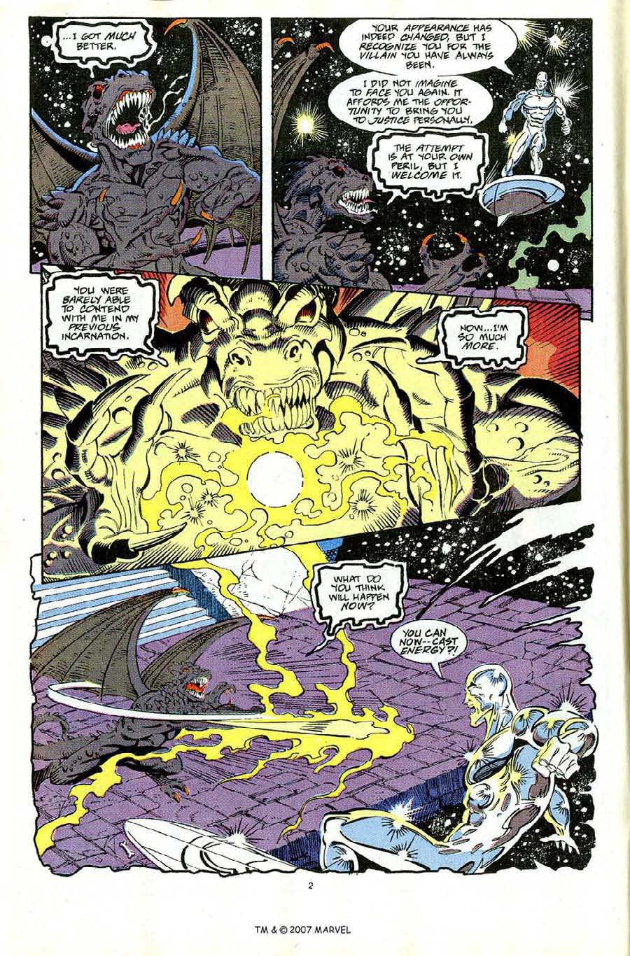 Read online Silver Surfer (1987) comic -  Issue #65 - 4