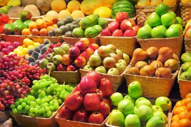 Abundancia de alimentos saludables